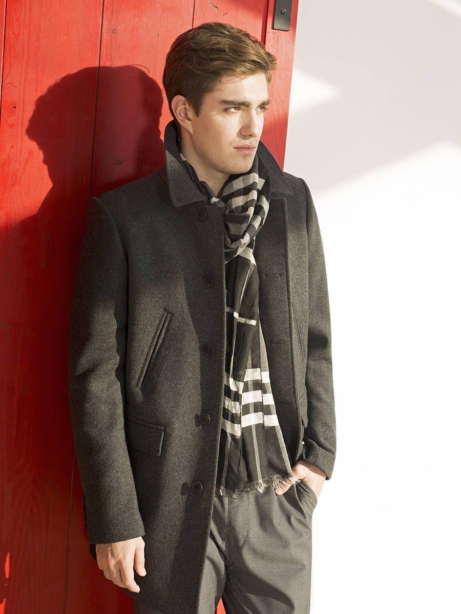 Пальто мужское<br><br>Артикул: 1700020S30092<br>Цвет: темно-серый<br>Материал: : Основная ткань: шерсть 70 %, полиэстер 25 %, полиамид 5 %;<br>Размер RU: 50<br>Пол: Мужской<br>Возраст: Взрослый